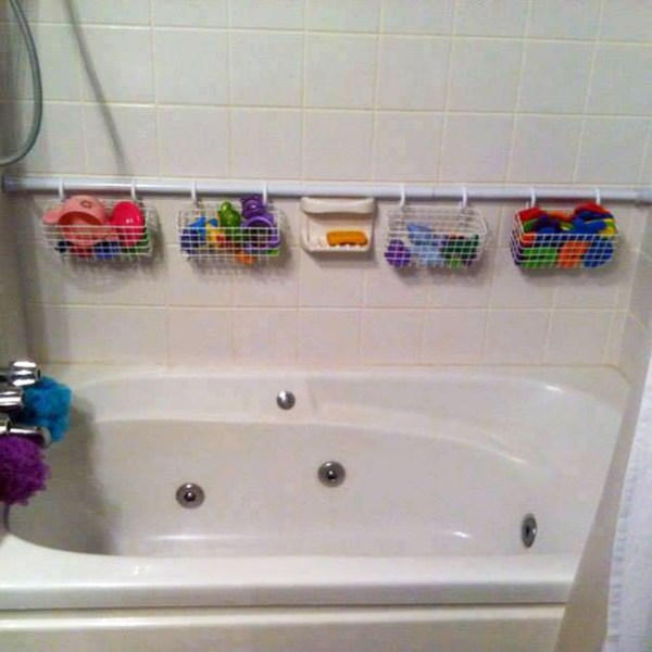 10 Insanely Clever Uses for Shower Curtain Rings that Save Space ...