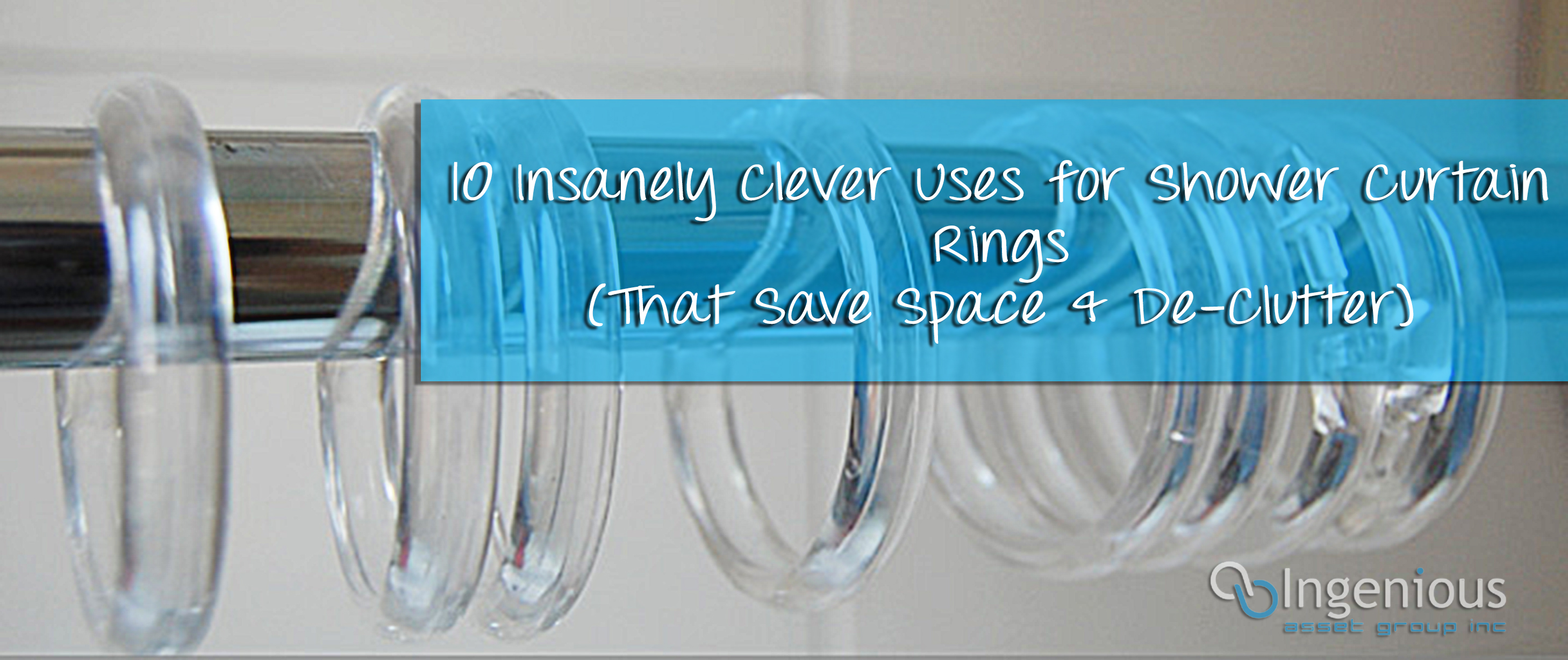 Uses For Shower Curtain Rings