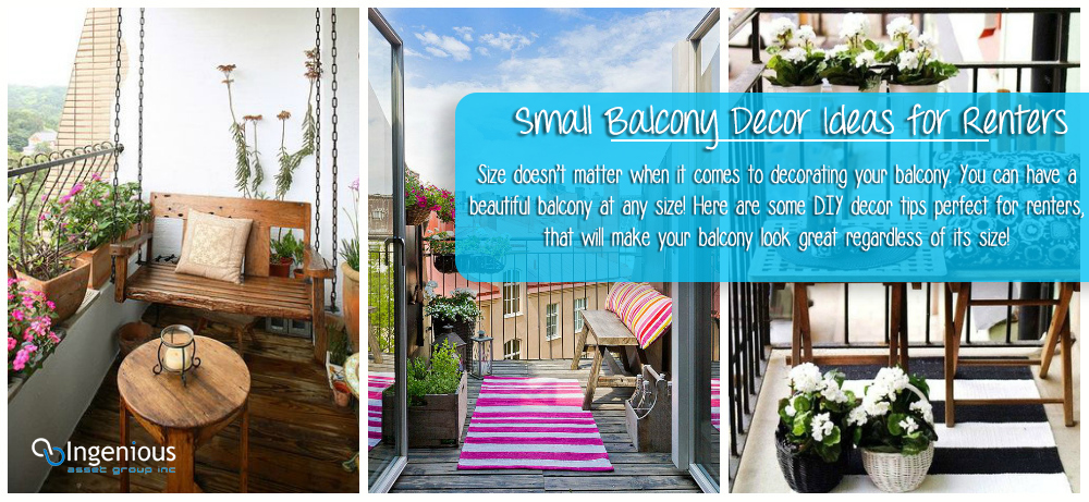 Small Balcony Decor Ideas Perfect For Renters